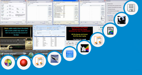 Software collection for Myanmar Midi Songs