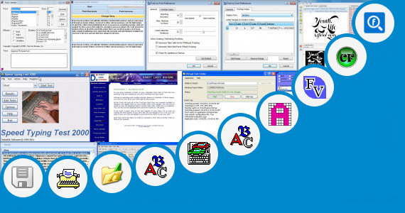 Software collection for Typing With Mg Shree Font