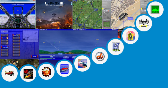 Software collection for Free Game Air Force 320x240 Touchscreen