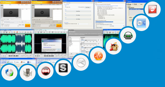 Software collection for Tamil Latast Audio Cut Song