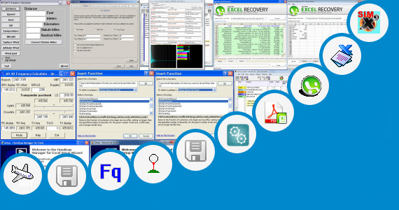 Software collection for Ahu Calculation Excel
