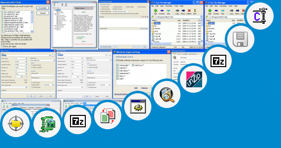 Software collection for Exractaed Zip File Tar Md5 Other