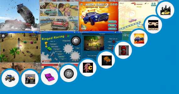 Software collection for Java Car Racing Game 200 Kb