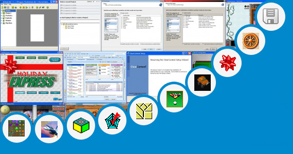 Software collection for C Graphics Program For Moving Train