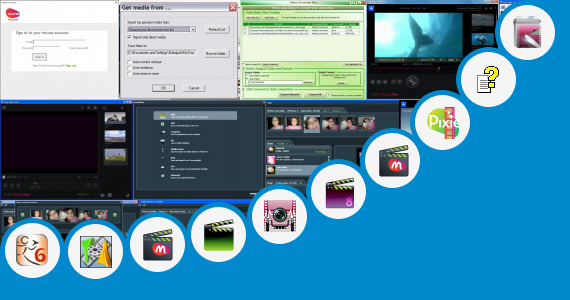 Software collection for American Bf Muves Video