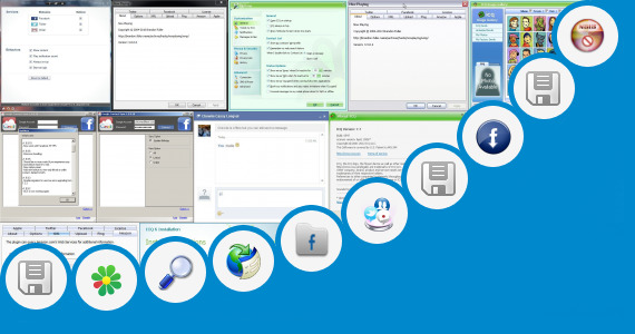 Software collection for New Updated Facebook Vxp