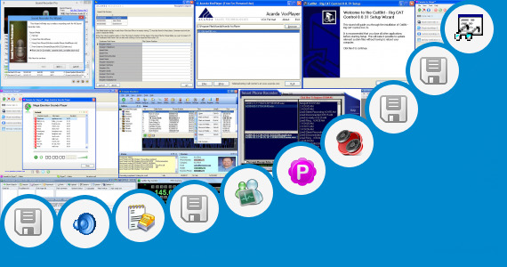 Software collection for Auto Call Recorder Vxp