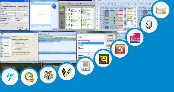 Software collection for Bengali Sms Writing Software