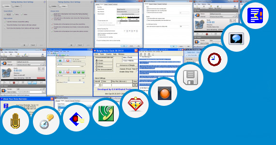 Software collection for Voice Announcement Software