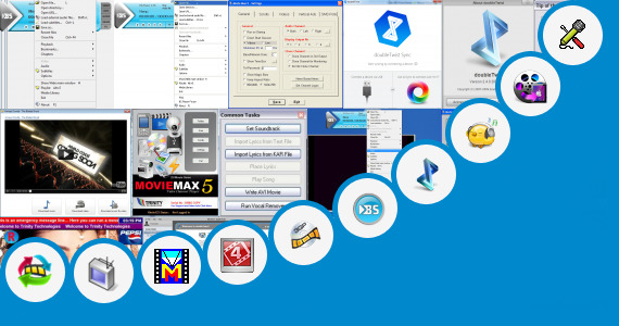 Software collection for 240400 Screen Siz Video Song