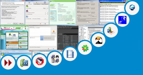 Software collection for Fariya Net Sharing Site