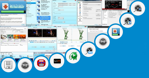 Software collection for Beta Film Video Songs