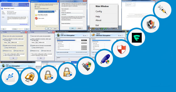 Software collection for Usb Security Software
