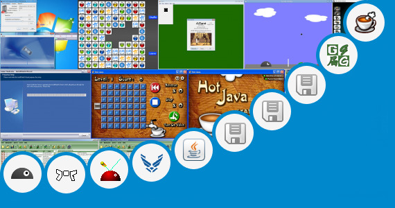 Software collection for Cstore Game Java