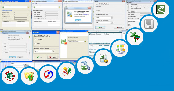 Software collection for Excel Programs Rcc Work