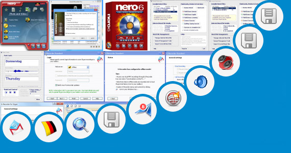 Software collection for Auto Call Record Vxp File