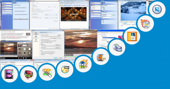 Software collection for Vivh Video Maker