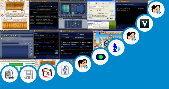 Software collection for Real Sangita Voice Software