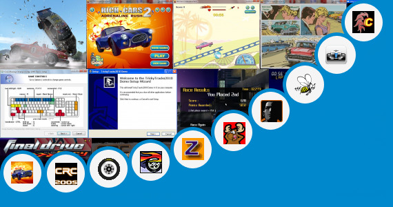 Software collection for How To Create A Car Racing Game In Notepad