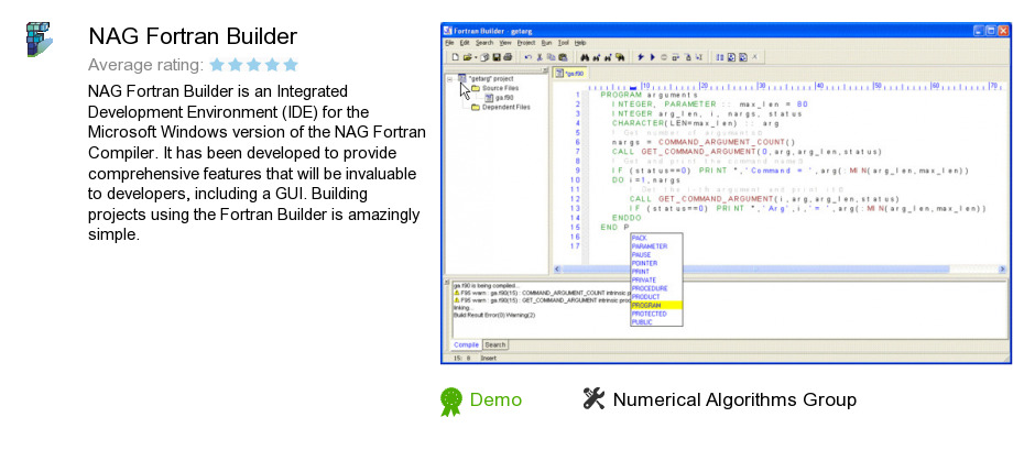 Nag fortran compiler free download