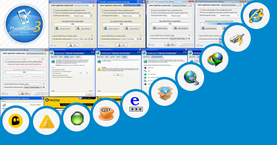 Software collection for Vxp Internet Browsing App