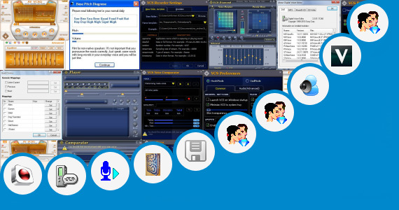 Software collection for Sangita Voice Making