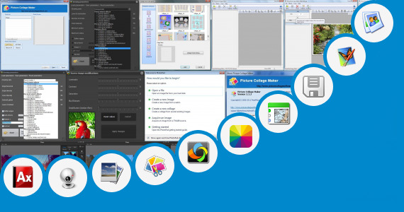 Software collection for Double Photo Frame In Dil Apps