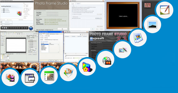 Software collection for Photo Frame File Hipoo