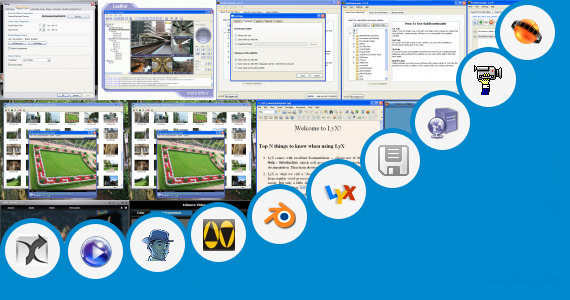 Software collection for Open Eglis Bf Films