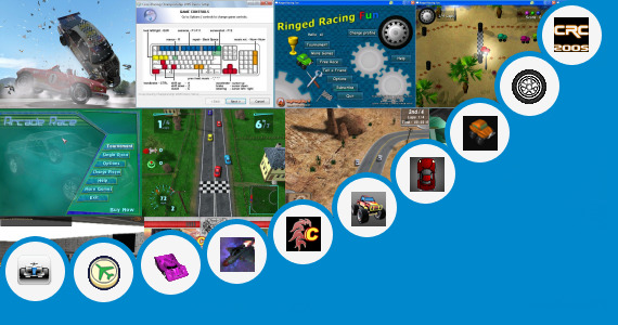 Software collection for Game Racing Wapking