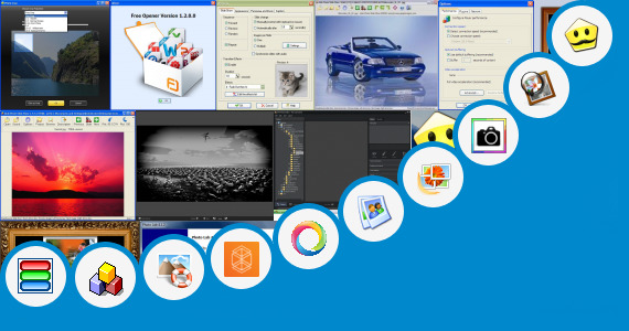 Software collection for Open Hinde Photo