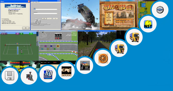 Software collection for Train Driving Jar Game