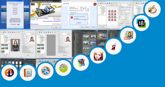 Software collection for Photo Editing Mre Apps Vxp