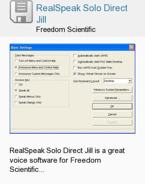 RealSpeak Solo Direct Jill