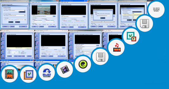 Software collection for Vivha Video Mix