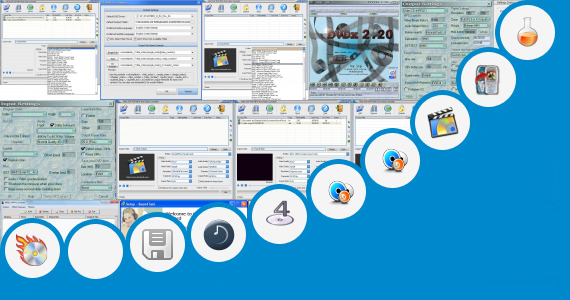 Software collection for Low Mb Mp4 Movies