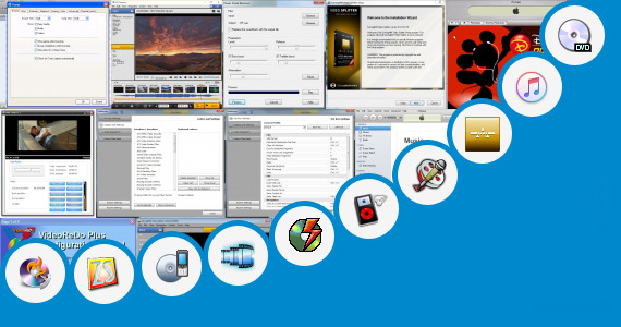 Software collection for Vinner Movie Compressed Cut Song
