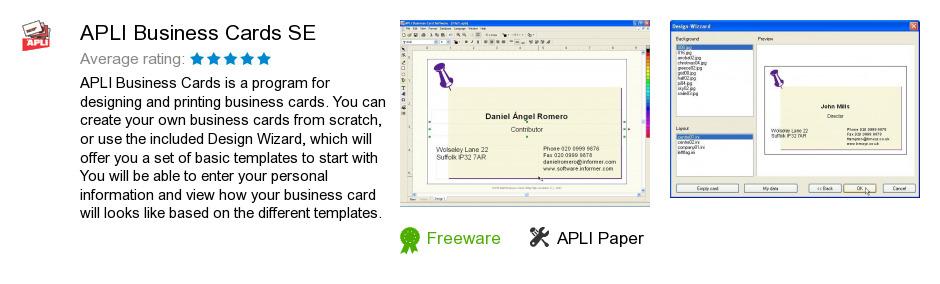 APLI Business Cards SE