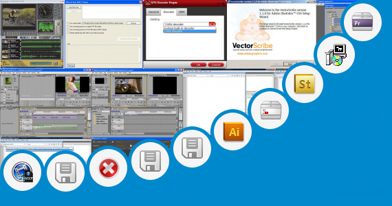 Software collection for Adobe Premier Filehipo