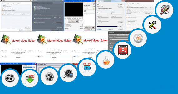 Software collection for Sixxi Video Song