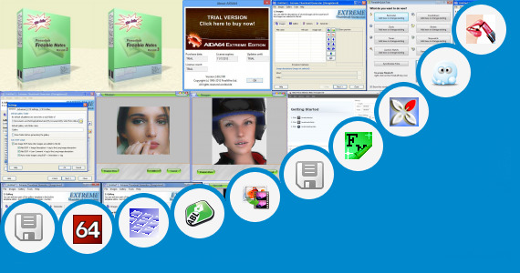 Software collection for Windows 7 Extreme Edition Skin