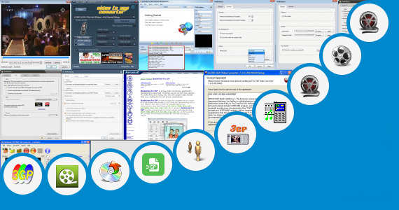 Software collection for Operations Video 3gp