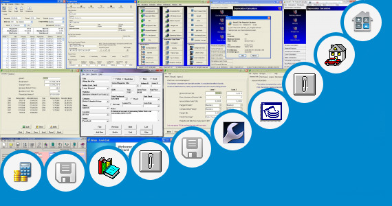 Software collection for Loaning System Dfd