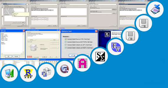 Software collection for Font Used In Utility Bills