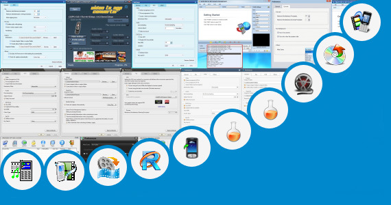 Software collection for 3gp Mobil Moviz