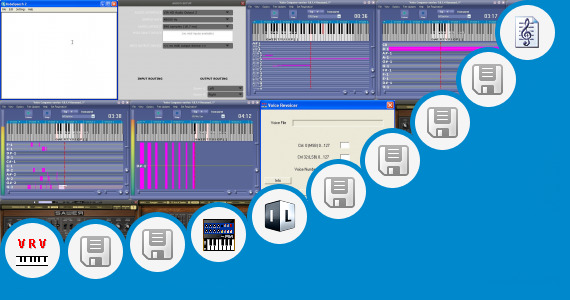 Software collection for Elmo Voice Synthesizer