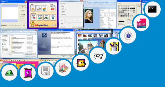 Software collection for Hindi Writing With Paint