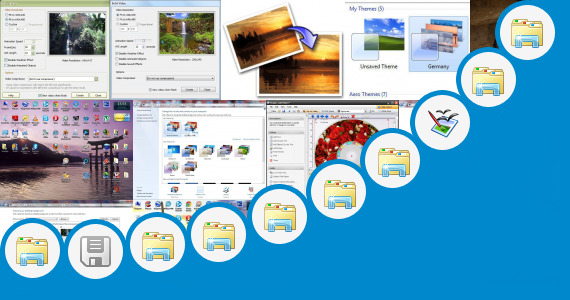Software collection for Windows Nature Nth Theme