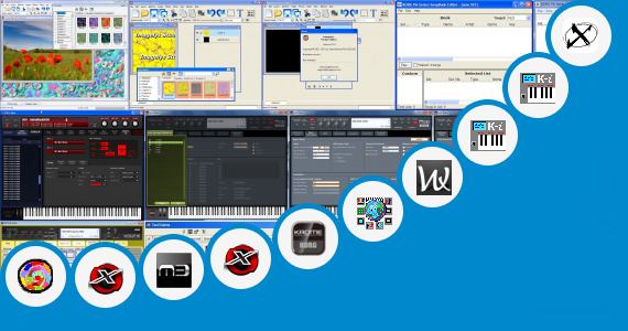 Software collection for Edit Style Korg Pa 50