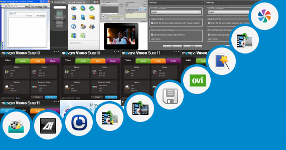 Software collection for Pc Suite App Vxp